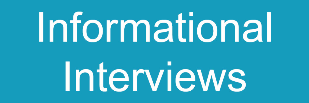 Info Interviews button