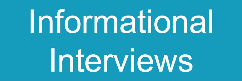 Info Interviews button