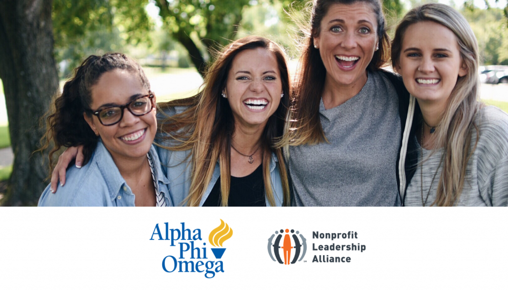Nonprofit Leadership Alliance and Alpha Phi Omega announce Strategic partnership, Resulting in pipeline of nonprofit leaders
